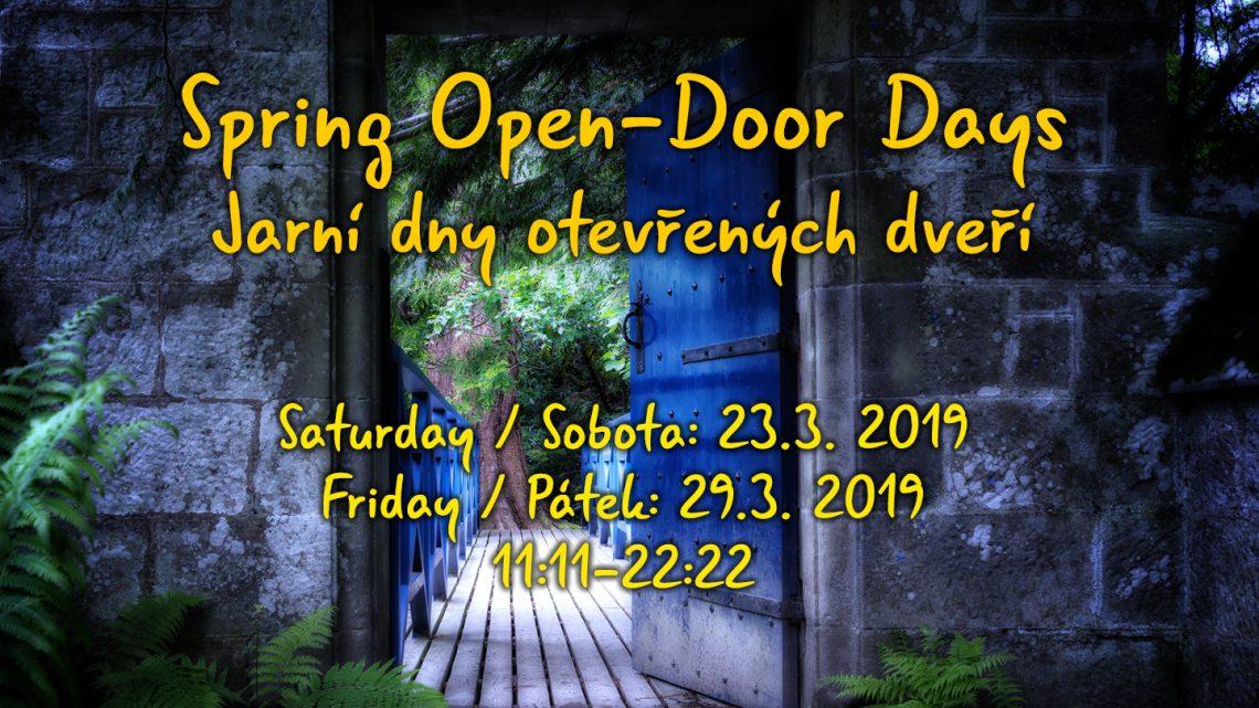 Open Door Days / Dny otevřených dveří
